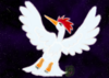 Nia Wolf: Bílá pírka, zdobíc křídla Fearowí
