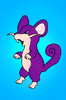 Rentoraa Thunder: Purple rat - Rattata
