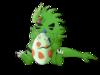Frogoska: Tyranitar s vajíčkem
