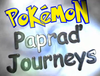 Simino and Lukas art: Pokémon: Papraď Journeys