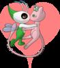 Lugia010719d1: Mew & Celebi 4ever