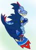 Mightyena Yena: Feraligatr Rider